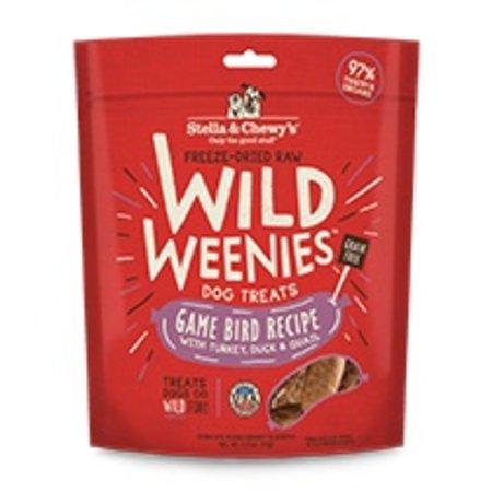 Freeze Dried Wild Weenies Game Bird 3.25oz.