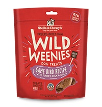 Freeze Dried Wild Weenies Game Bird 3.25oz.