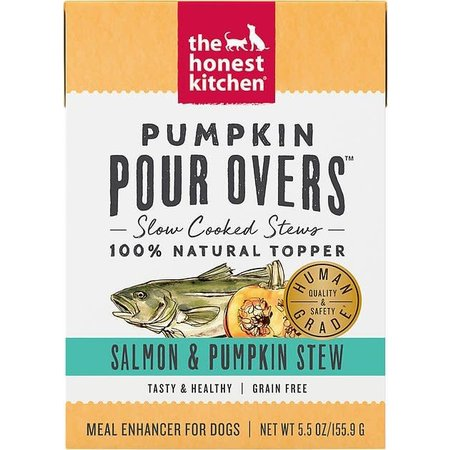 Pour Overs Salmon/Pumpkin Stew 5.5oz.