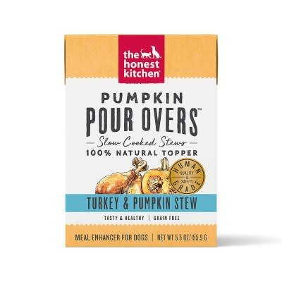 Pour Overs Turkey/Pumpkin Stew 5.5oz.