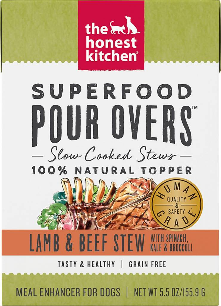 Superfood Pour Overs Lamb/Beef 5.5oz.