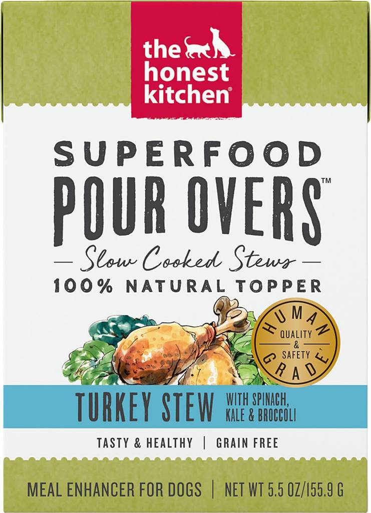 Superfood Pour Overs Turkey Stew 5.5oz.