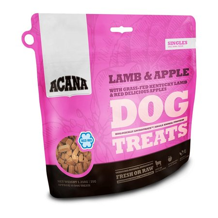 Freeze Dried Lamb/Apple Treats 1.25oz.