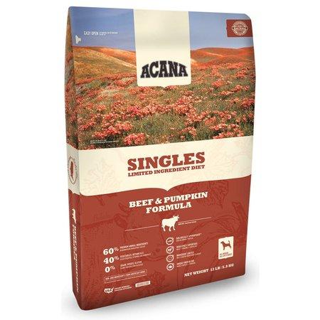 Singles Beef/Pumpkin 4.5lb.