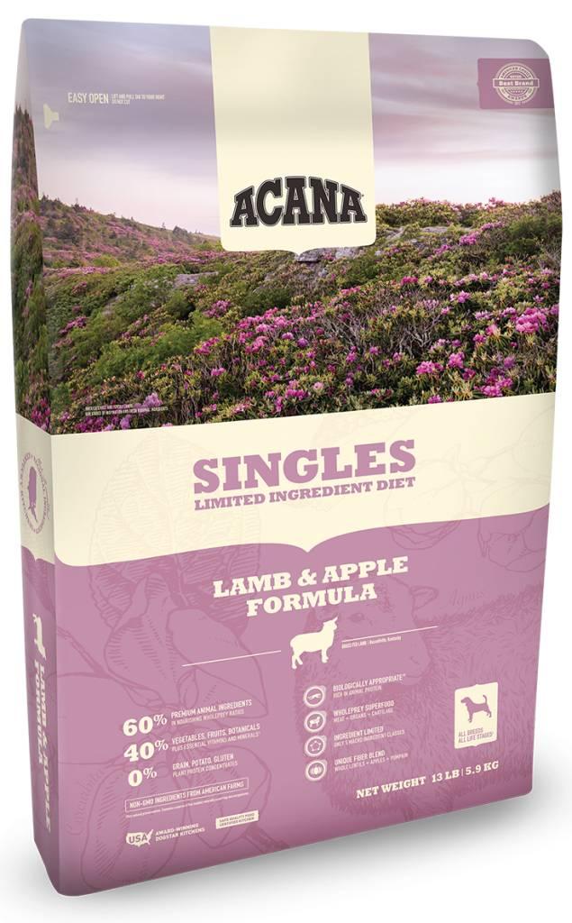 Singles Lamb/Apple 25lb.
