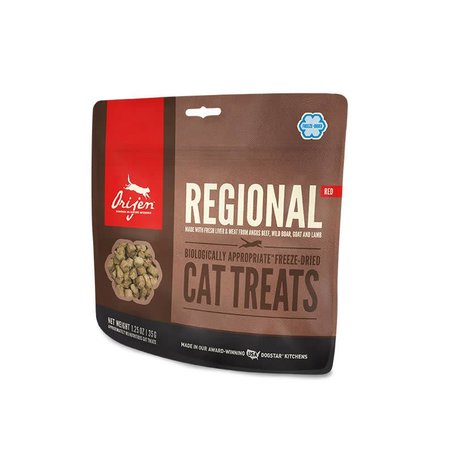 Cat Freeze Dried Regional Red Treats 1.25oz.