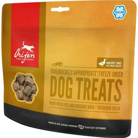 Freeze Dried Duck Treats 3.25 oz.