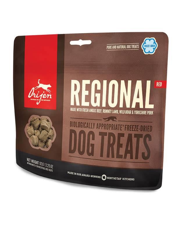 Freeze Dried Regional Red Treats 1.5oz.