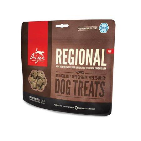 Freeze Dried Regional Red Treats 3.25oz.