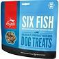 Freeze Dried Six Fish Treats 1.5oz.