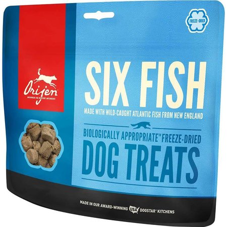 Freeze Dried Six Fish Treats 3.25oz.