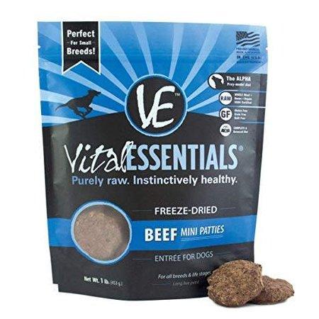 Freeze Dried Mini Patties Beef 1lb.