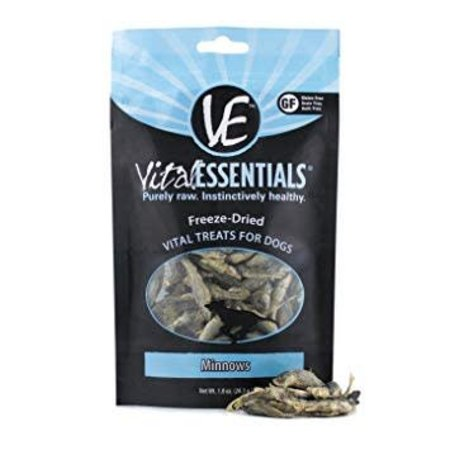 Freeze Dried Minnows Treat 1oz.