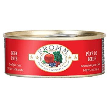 4Star Cat Pate Beef 5.5oz.