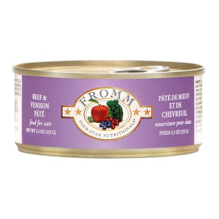 4Star Cat Pate Beef/Venison 5.5oz.