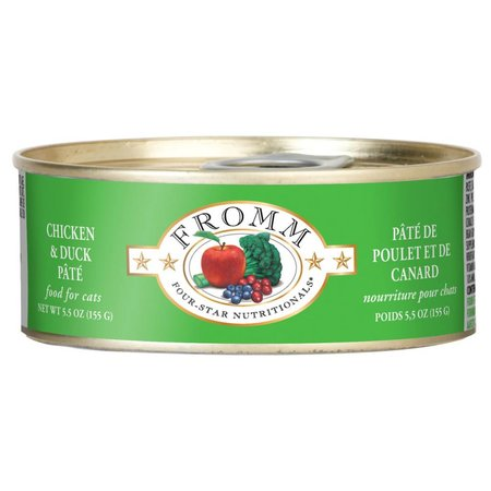 4Star Cat Pate Chicken/Duck 5.5oz.