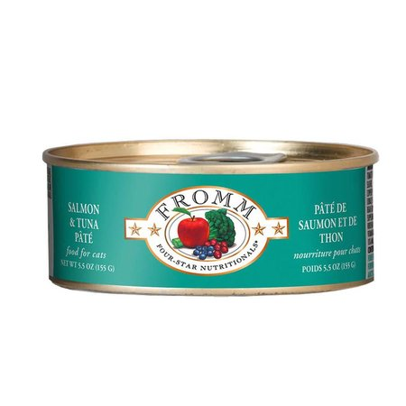 4Star Cat Pate Salmon/Tuna 5.5oz.