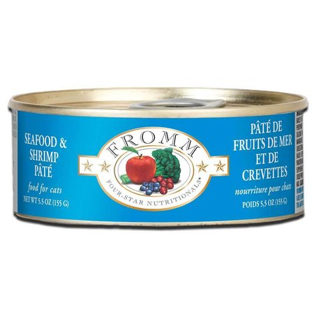 4Star Cat Pate Seafood/Shrimp 5.5oz.