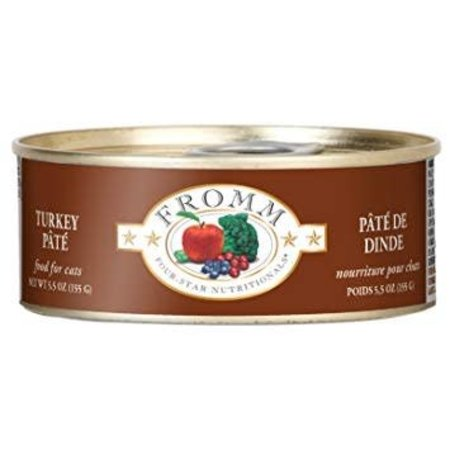 4Star Cat Pate Turkey 5.5oz.