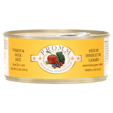 4Star Cat Pate Turkey/Duck 5.5oz.