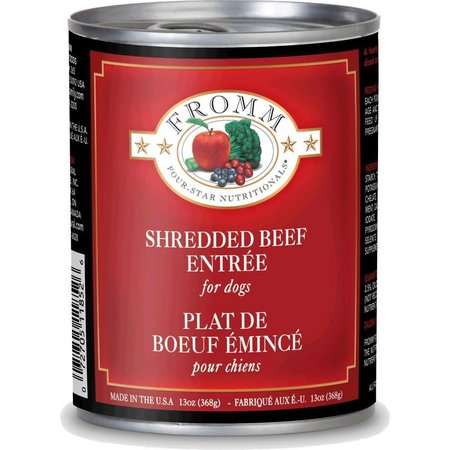 4Star Shredded Beef 12oz.