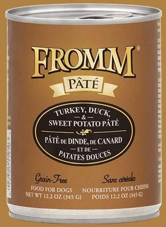 GF Pate Turkey/Duck/Sweet Potato 12.2oz.