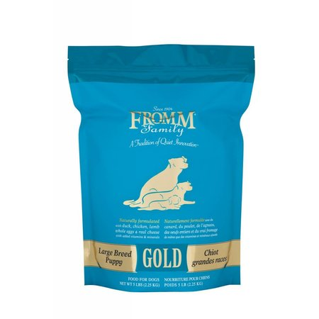 Gold Large Breed Puppy 15lb.