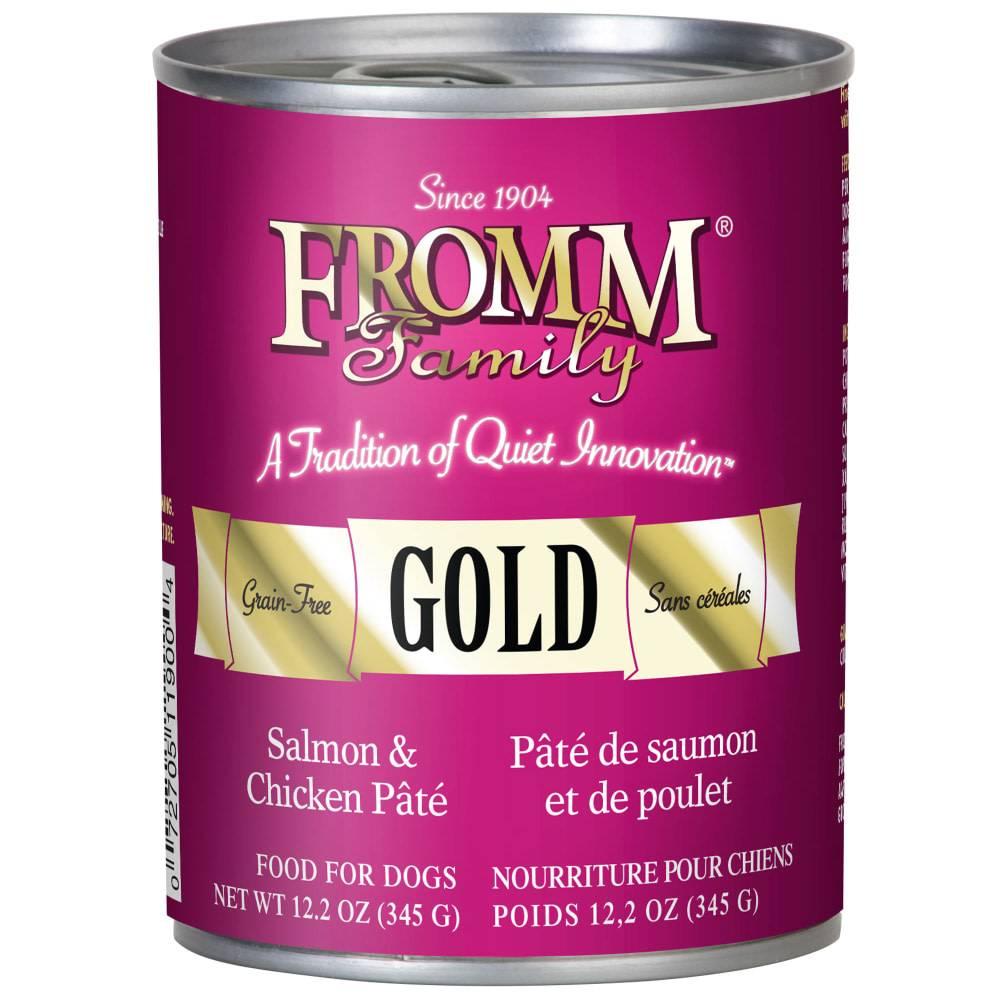 Gold Pate Salmon/Chicken 12.2oz.