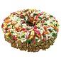 Peanut Butter W/Jimmies Gourmet Donut