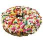 Pink W/Jimmies Gourmet Donut