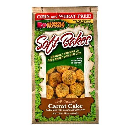 Soft Bakes Carrot Cake 12oz.