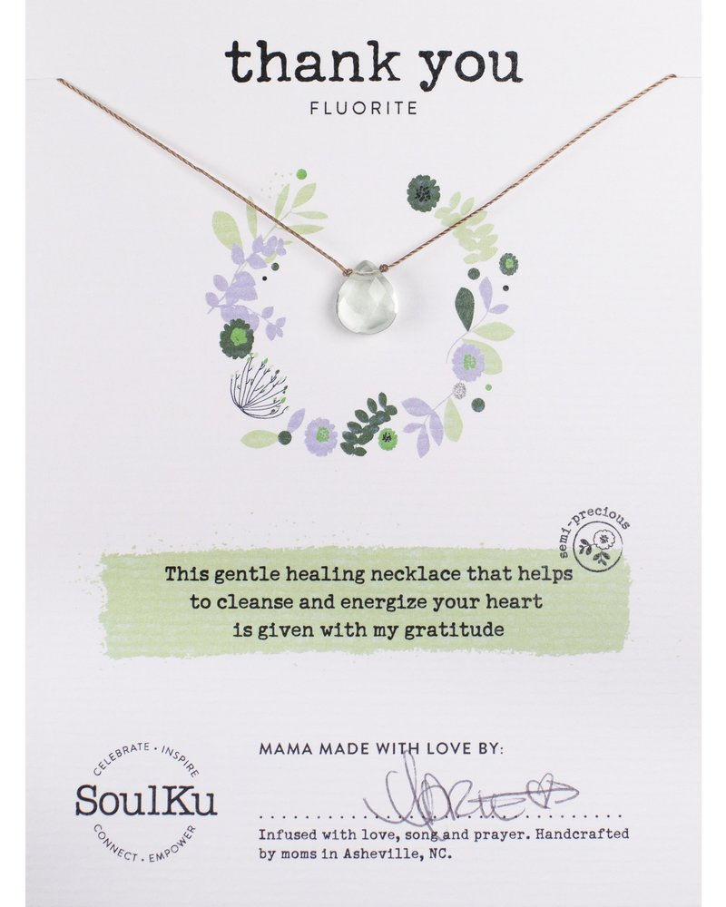 SoulKu SFOLight Necklace Thank You