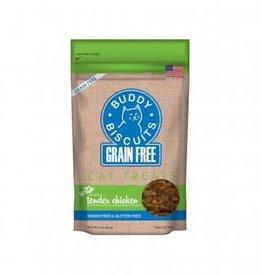 Buddy Biscuit Grain Free Chic Cat Treat 3z