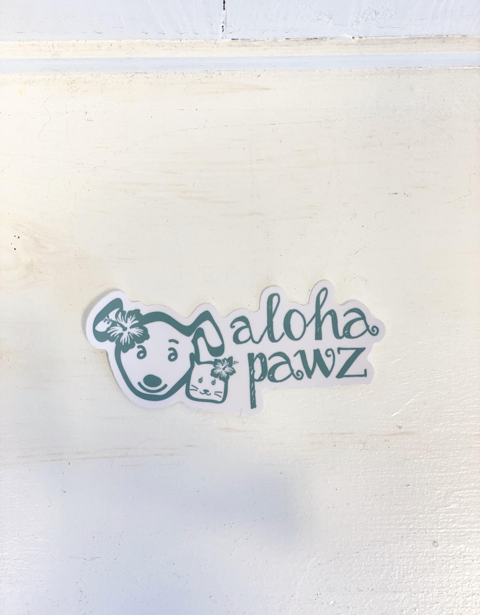 Aloha Pawz Aloha Pawz Vinyl Sticker