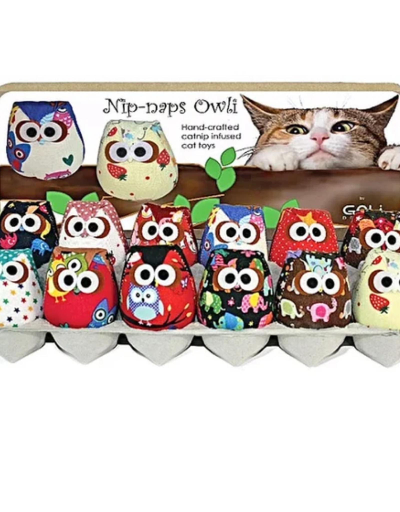 Goli Nip Naps Owl Cat Toy