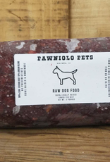 Pawniolo Pet Treats Raw Beef Chub 2lb