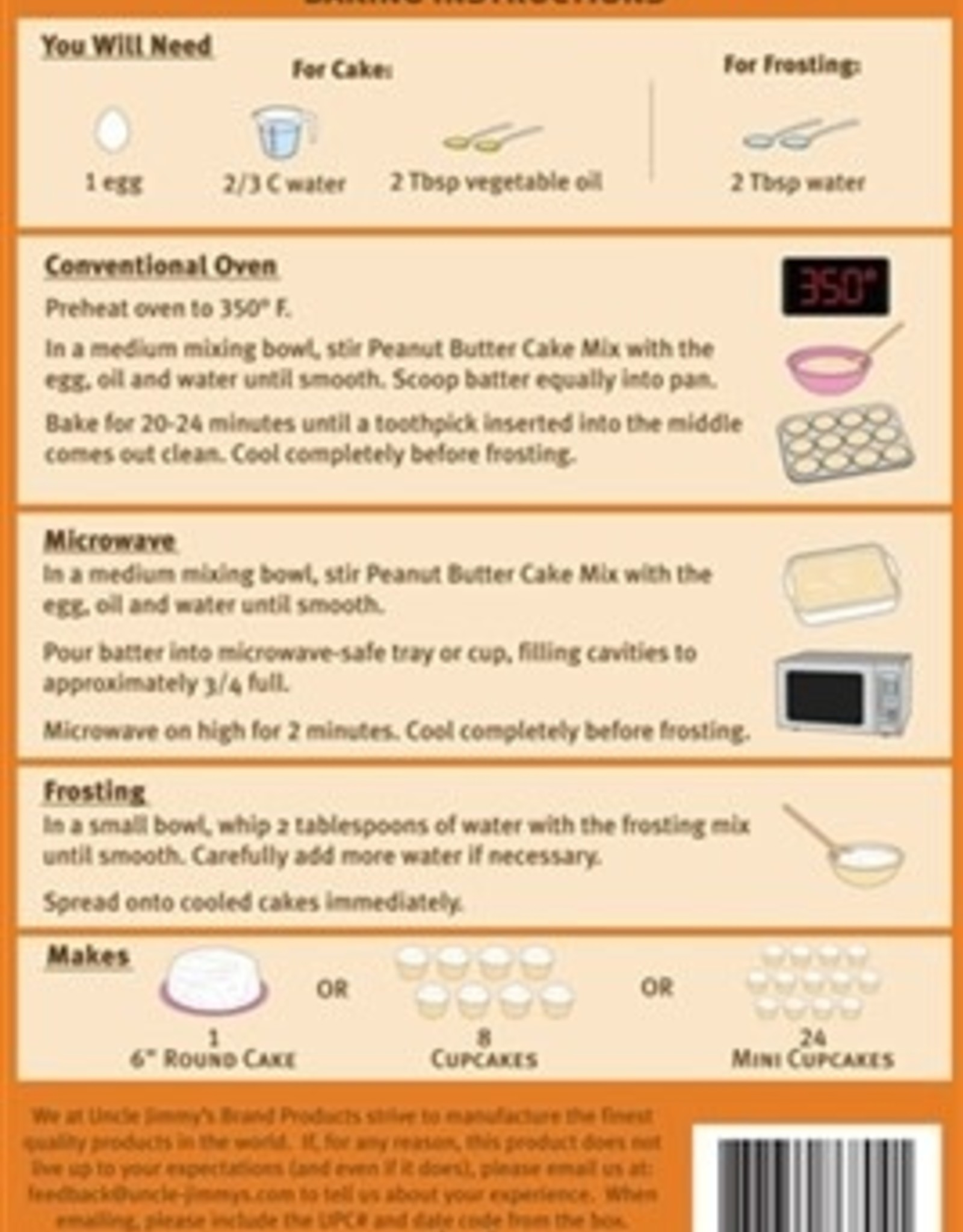 Cake Mix PB w/ Frosting