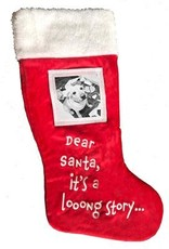 Lulubelles Dear Santa Stocking by Lulubelles