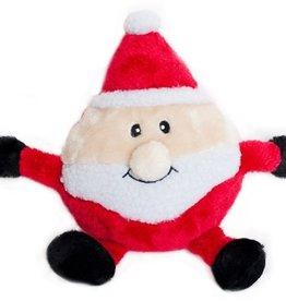 ZippyPaws Holiday Brainey Santa