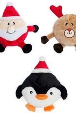 ZippyPaws ZippyPaws Holiday Brainey Santa