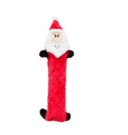 ZippyPaws Holiday Jigglerz Santa