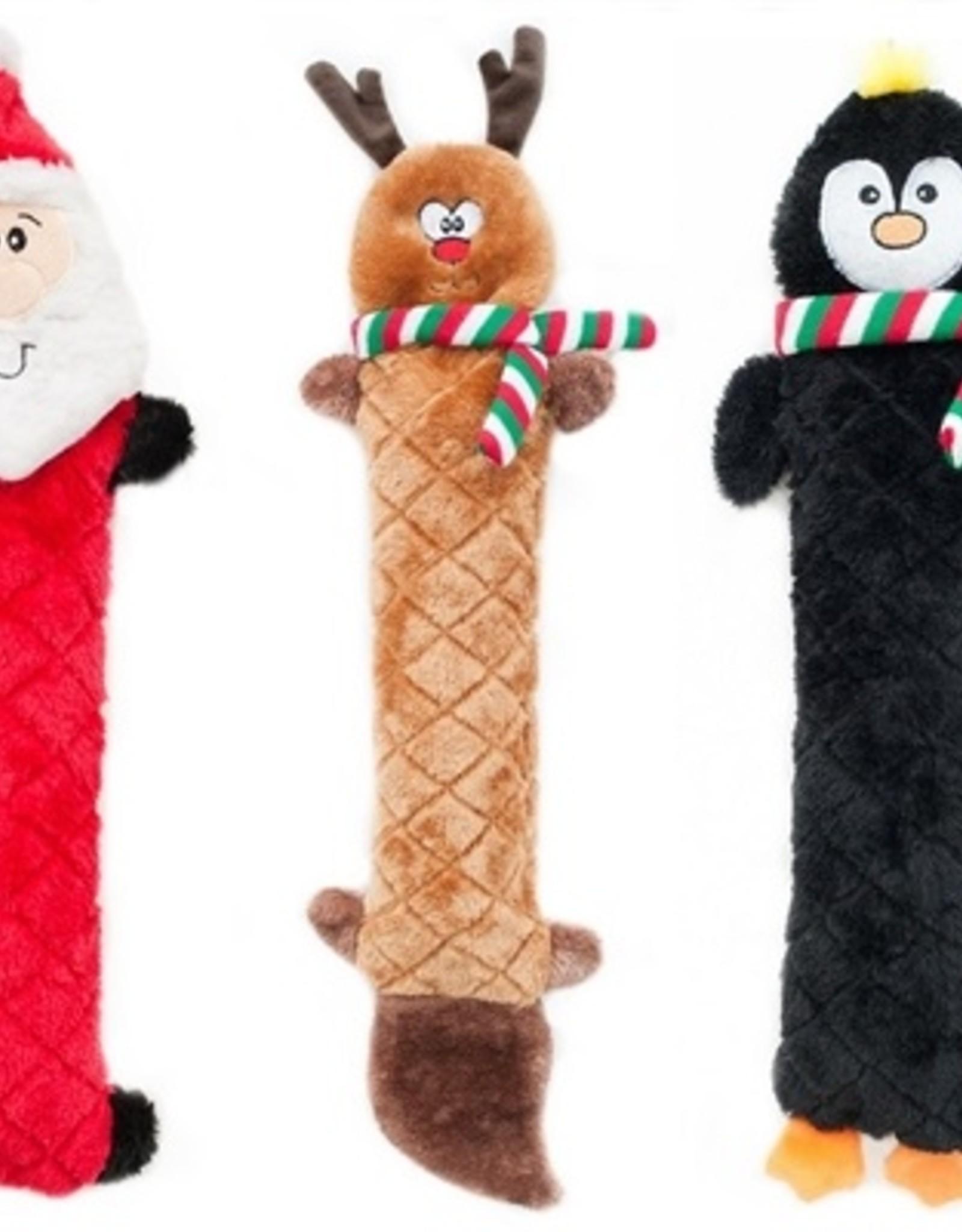 ZippyPaws ZippyPaws Holiday Jigglerz Santa