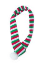 ZippyPaws ZippyPaws Holiday Scarf Red/Green