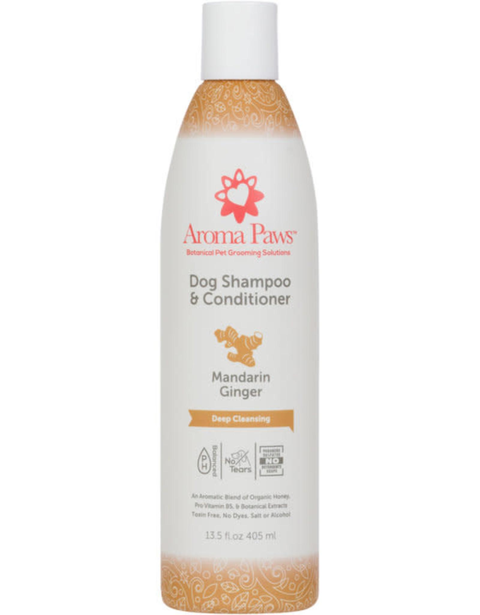 Mandarin Ginger Shampoo & Conditioner 13.5oz