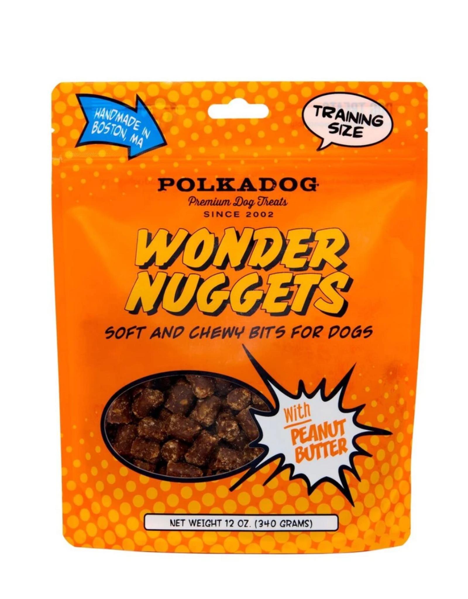 Polka Dog Wonder Nugget Peanut Butter 12oz