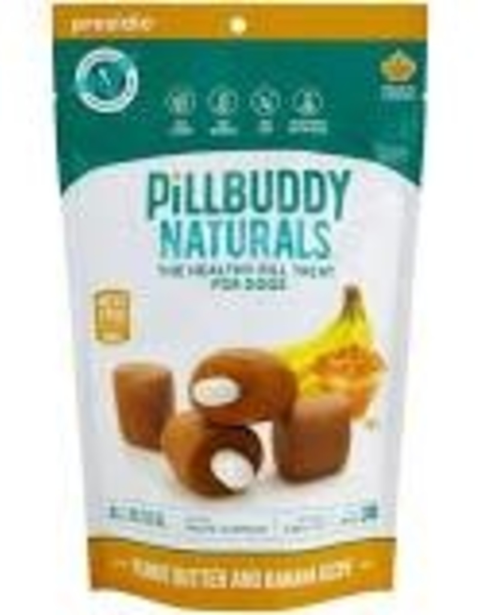 Presidio Natural Pet Co. Pill Buddy Peanut Butter Banana 30ct