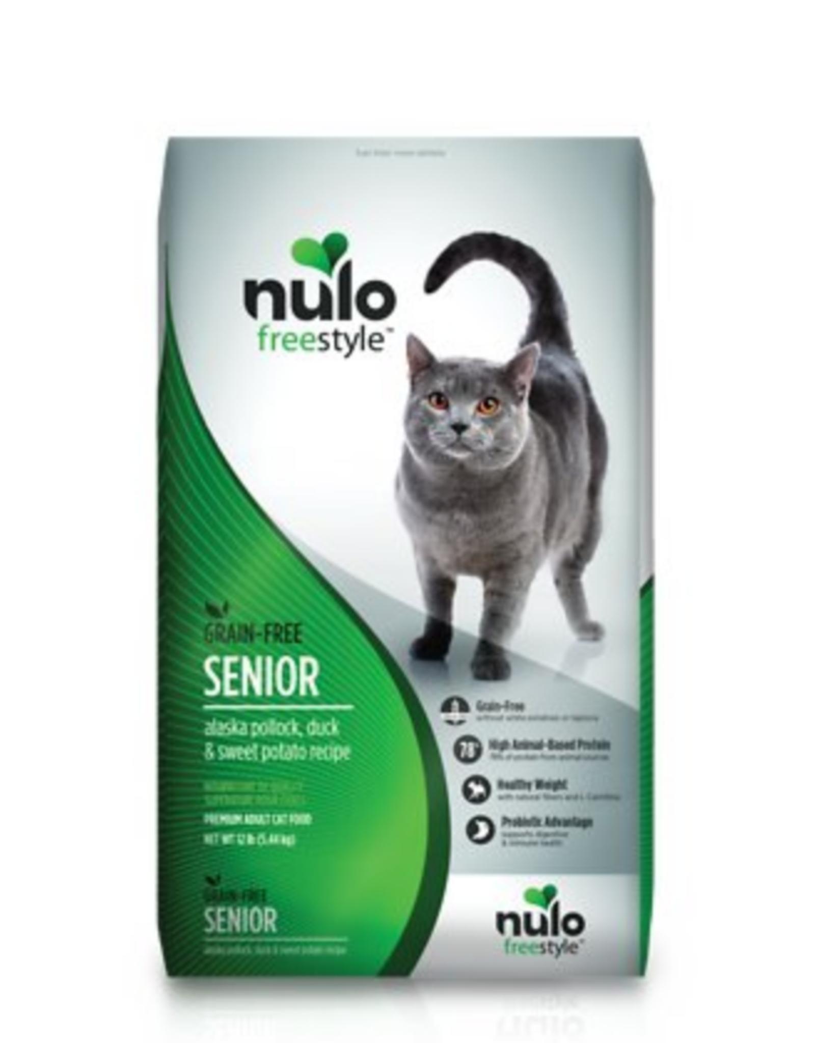 Nulo Cat Senior Pollock, Duck, Sweet Potato 12lb