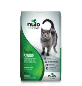 Nulo Freestyle Cat Senior Pollock, Duck, Sweet Potato 12lb