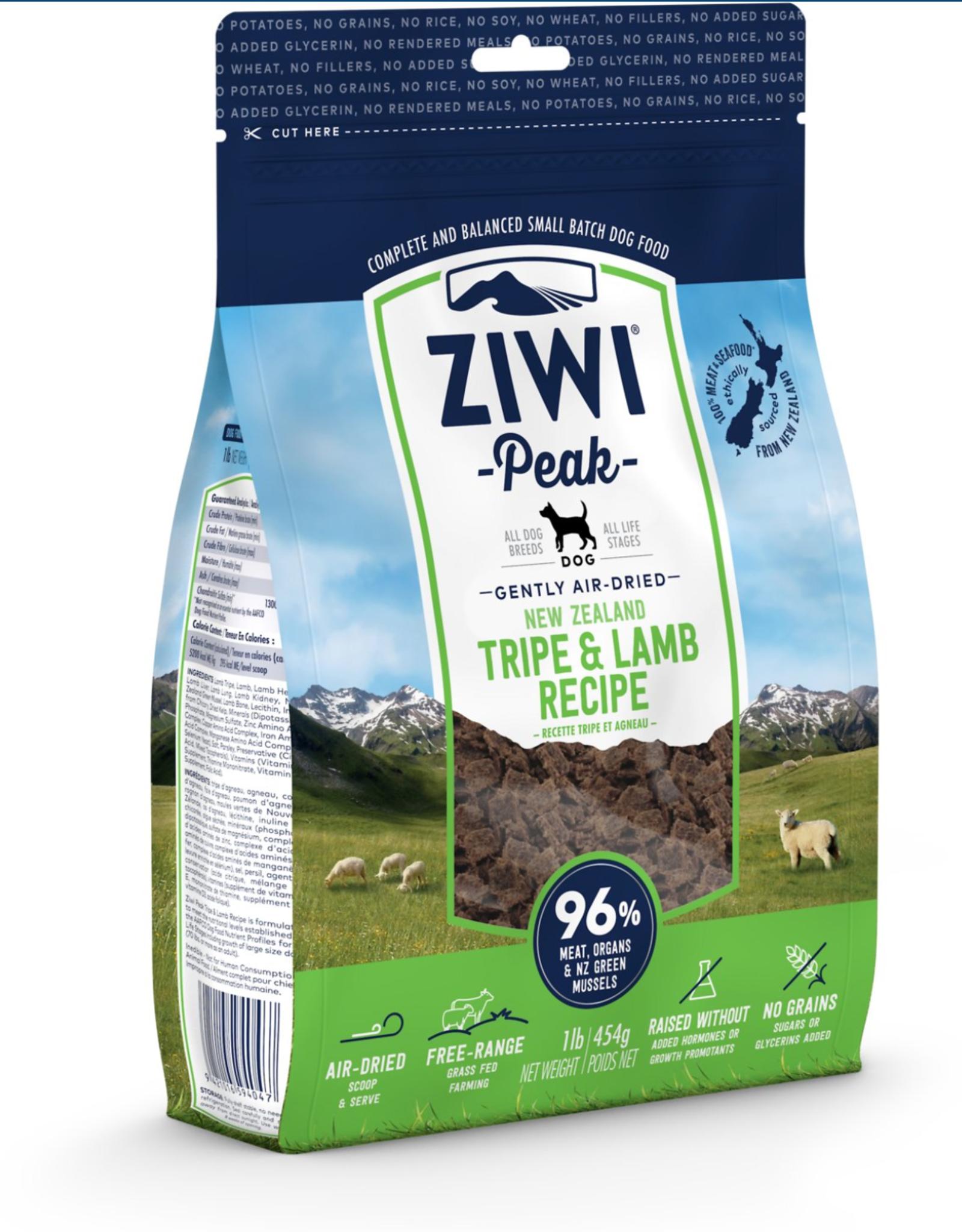 Ziwi Ziwi Peak - Dog Food - Tripe & Lamb Flavored - 16oz