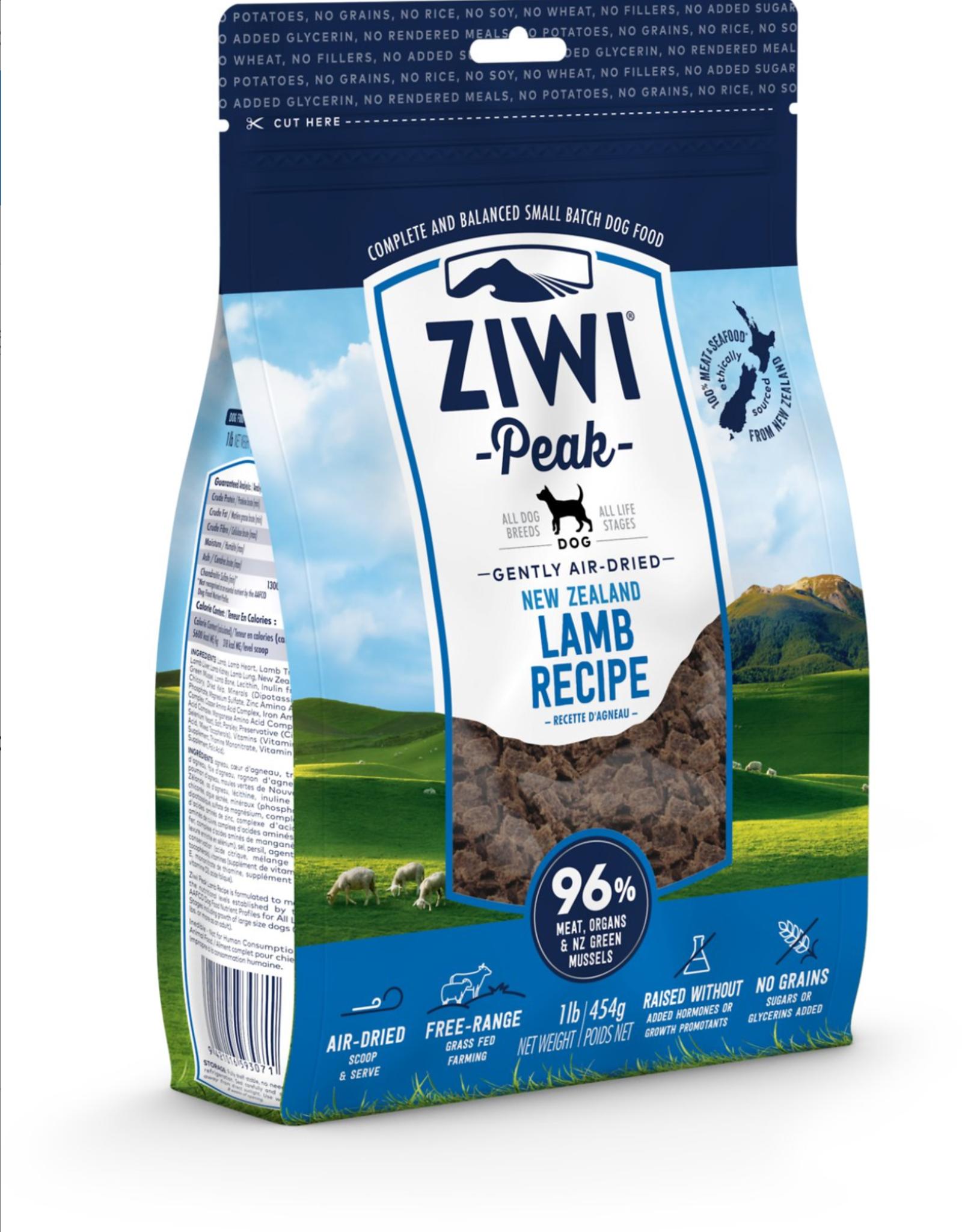Ziwi Ziwi Peak Dog Lamb 16oz
